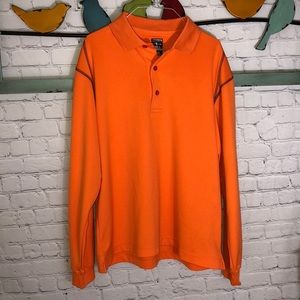 🦋30% OFF🦋PAGE & TUTTLE COOL SWING GOLF SHIRT SZM